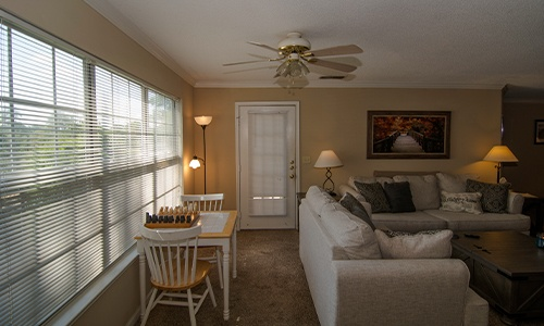 living space in a sober living home for men in Hoover, AL